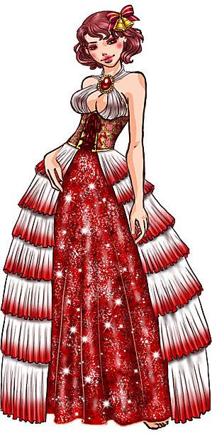 Dessins en couleurs imprimer princesse num ro 11984 - Coloriage robe de princesse ...
