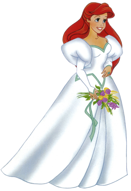 ariel coloring pages wedding dresses - photo#34