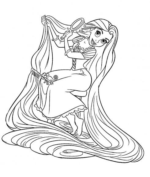 Coloriages à imprimer : Princesse, numéro : 163568