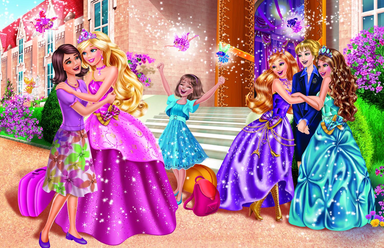 Dessins en couleurs imprimer princesse num ro 244872 - Barbie l apprentie princesse ...