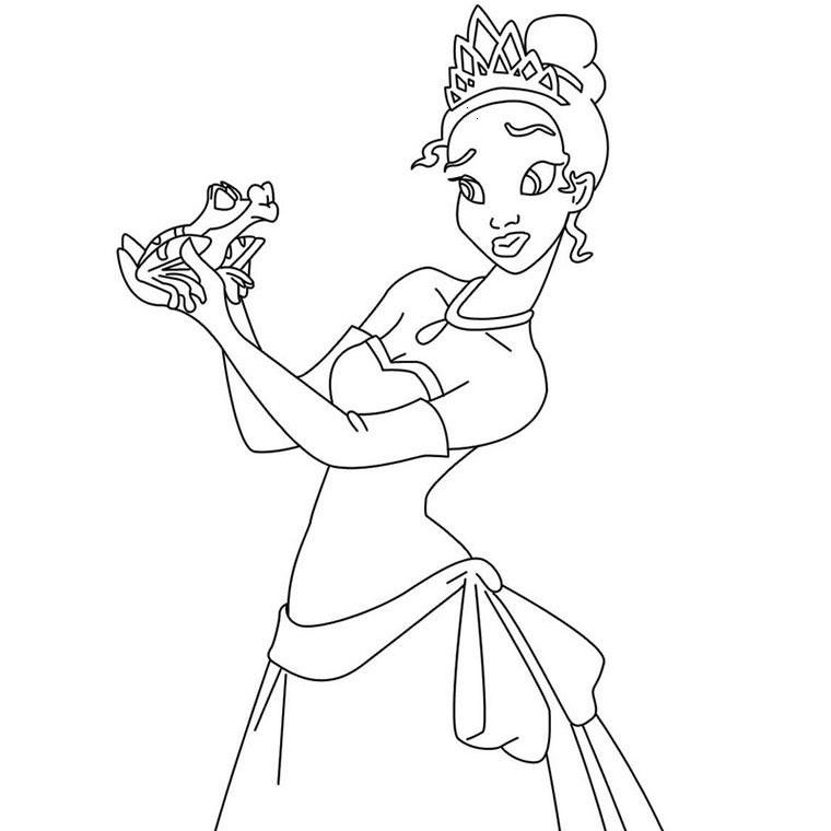 Coloriages à imprimer : Princesse, numéro : 27221