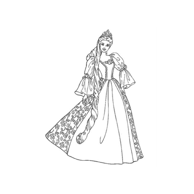 Coloriages à imprimer : Princesse, numéro : 28142