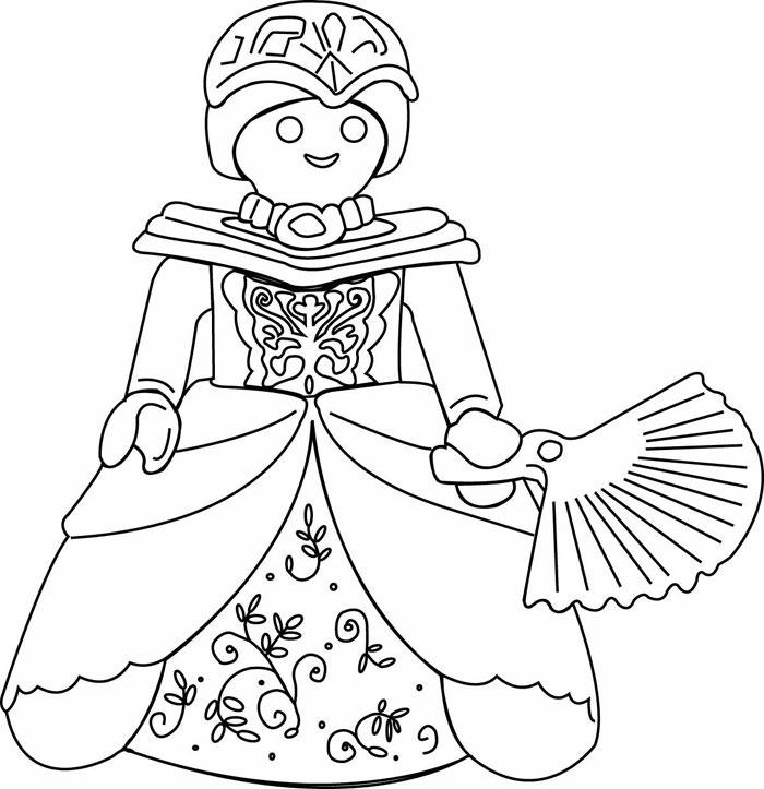 Coloriages à imprimer : Princesse, numéro : 9563