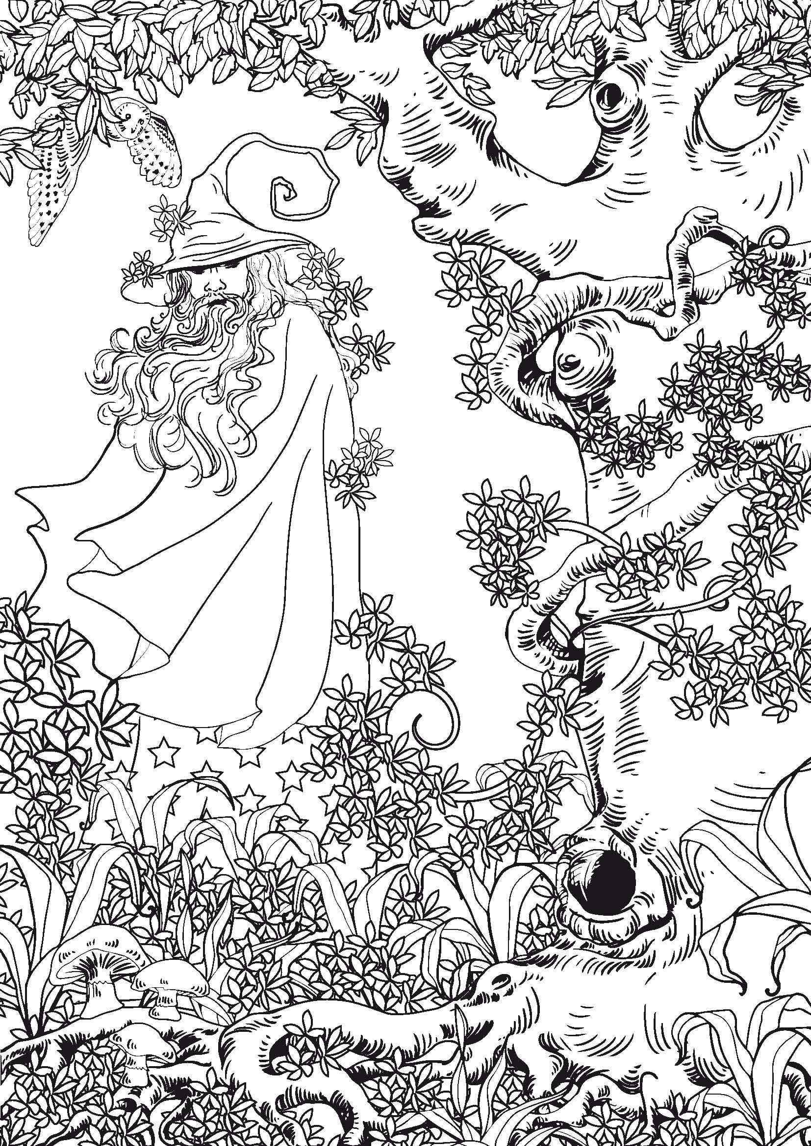Coloriages à imprimer : Personnages féeriques, numéro : c570743f