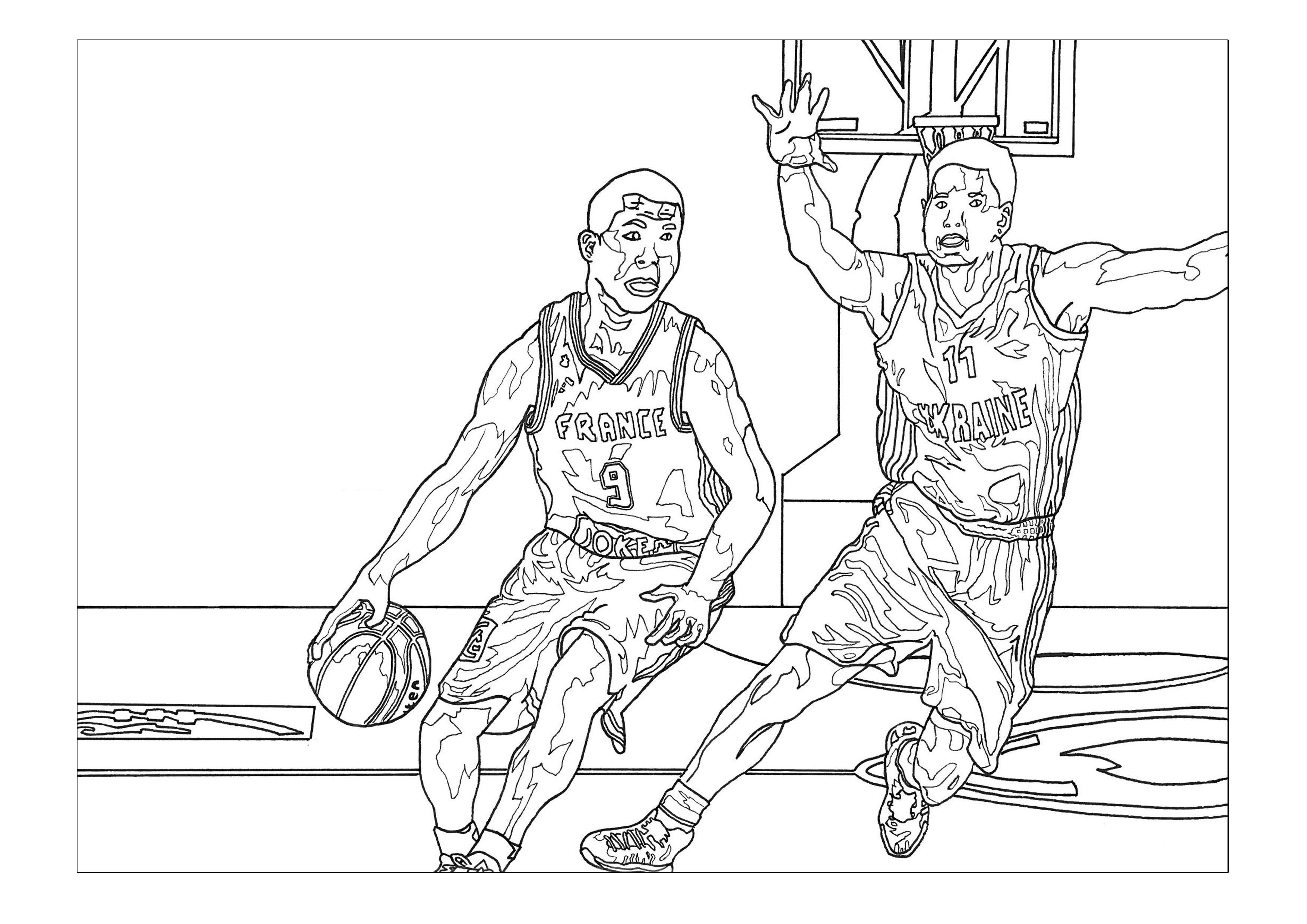 Coloriages à imprimer : Sports, numéro : 93199fde