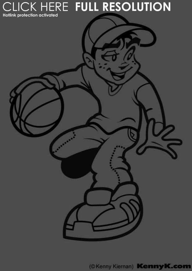 Coloriages à imprimer : Basketball, numéro : 459900