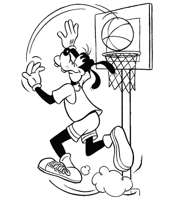 Coloriages à imprimer : Basketball, numéro : 501366