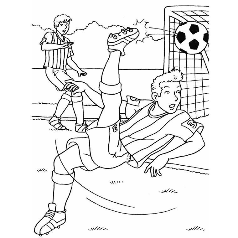 Coloriages à imprimer : Football, numéro : 459833