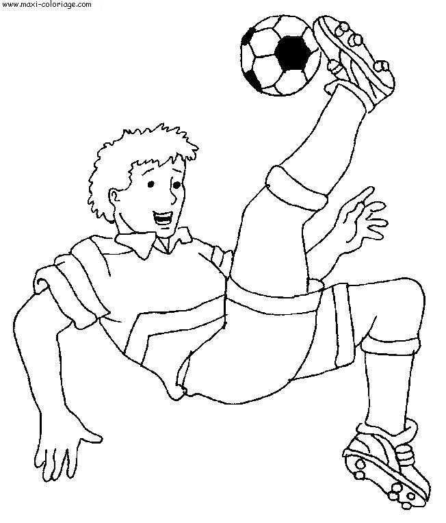 Coloriages à imprimer : Football, numéro : 459834