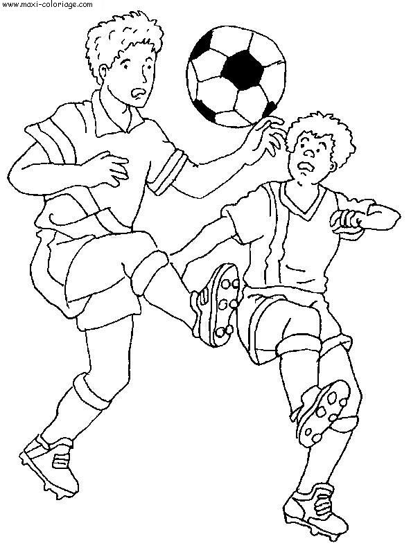 Coloriages imprimer football num ro 459846 - Dessins de football ...