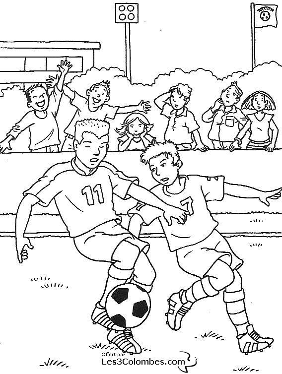 Coloriages à imprimer : Football, numéro : 459856