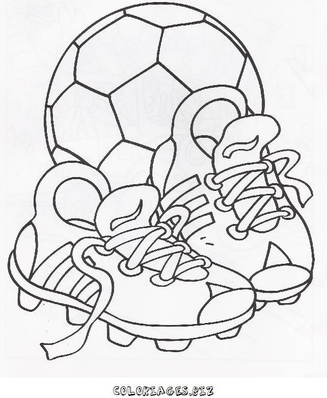 Dessins En Couleurs à Imprimer Football Numéro 509447
