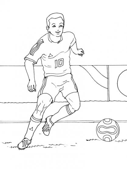 Coloriages à imprimer : Football, numéro : 561373