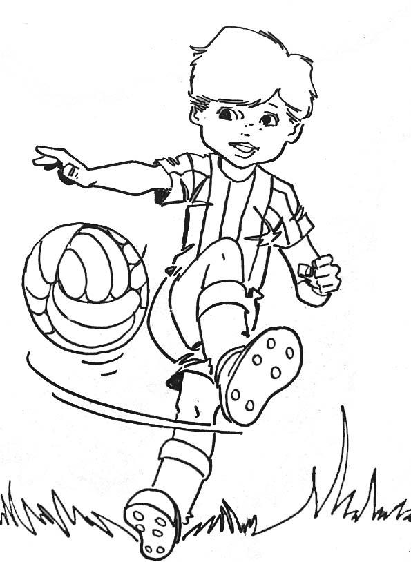 Coloriages à imprimer : Football, numéro : 57502