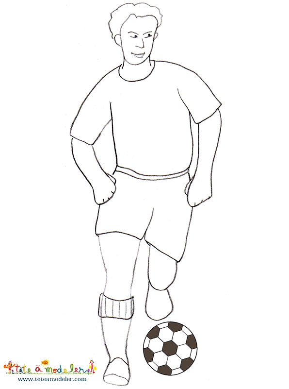 Dessins en couleurs imprimer football num ro 593258 - Dessins de football ...