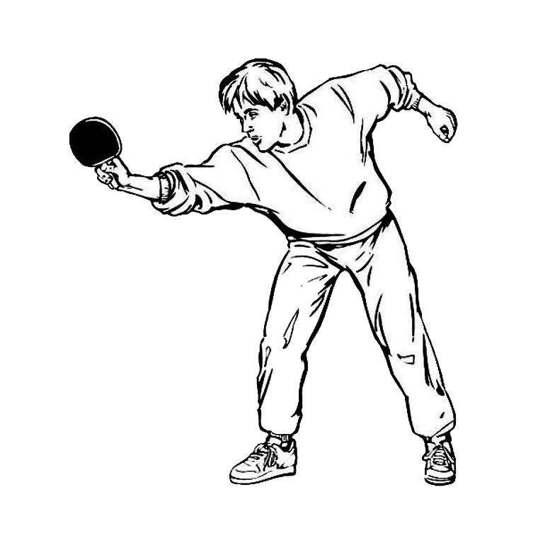 Coloriages à imprimer : Tennis, numéro : 460024