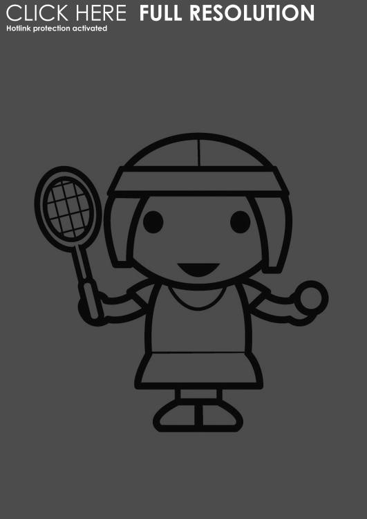 Coloriages à imprimer : Tennis, numéro : 460040