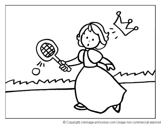 Dessins en couleurs à imprimer : Tennis, numéro : 464774