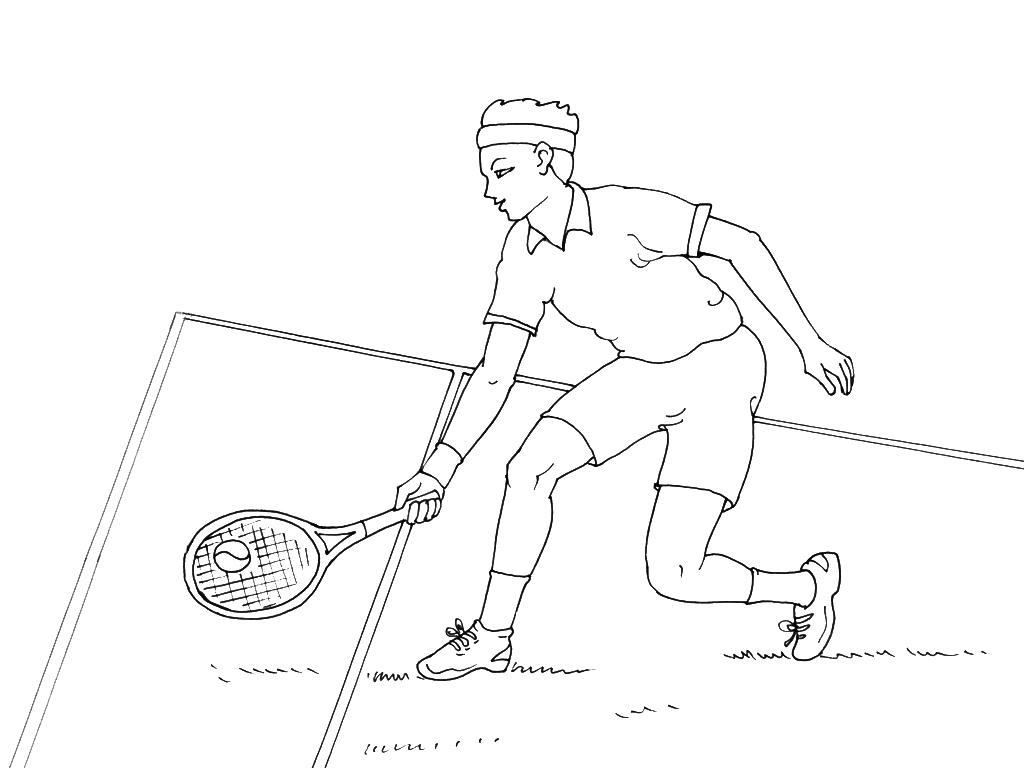 Coloriages à imprimer : Tennis, numéro : 469862