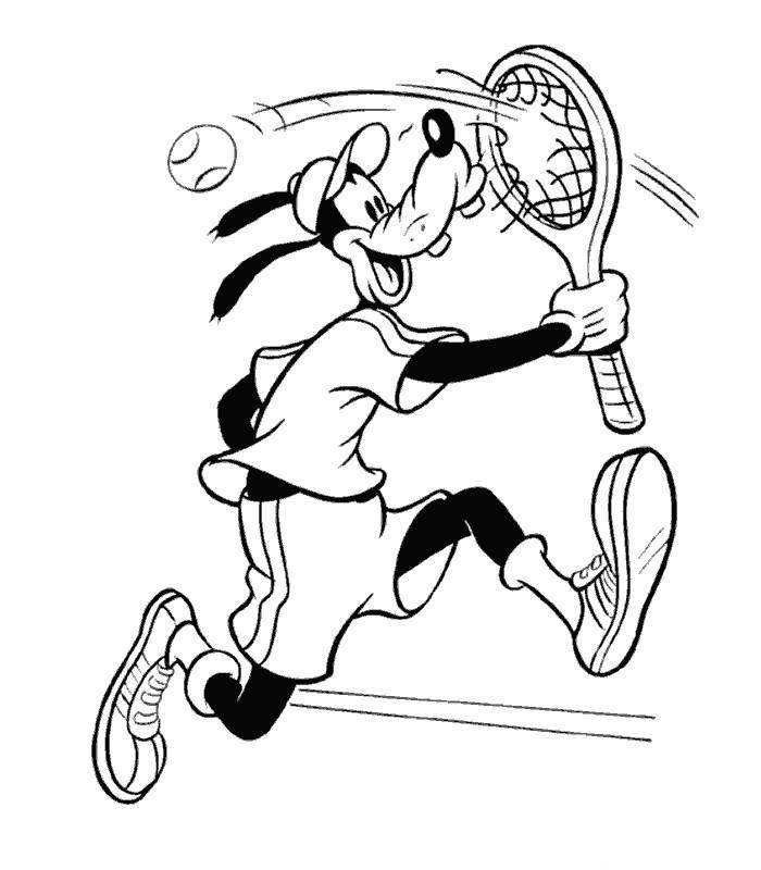 Coloriages à imprimer : Tennis, numéro : 469867