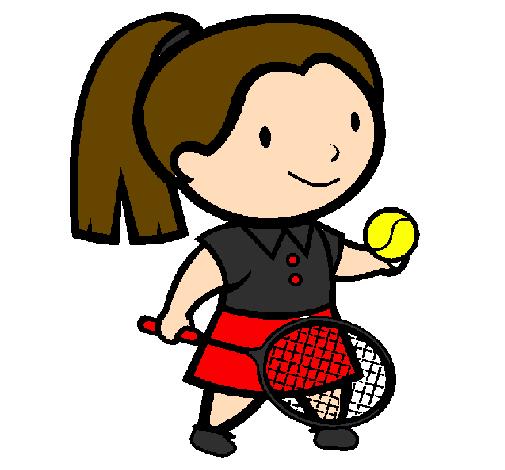 Dessins en couleurs à imprimer : Tennis, numéro : 498889