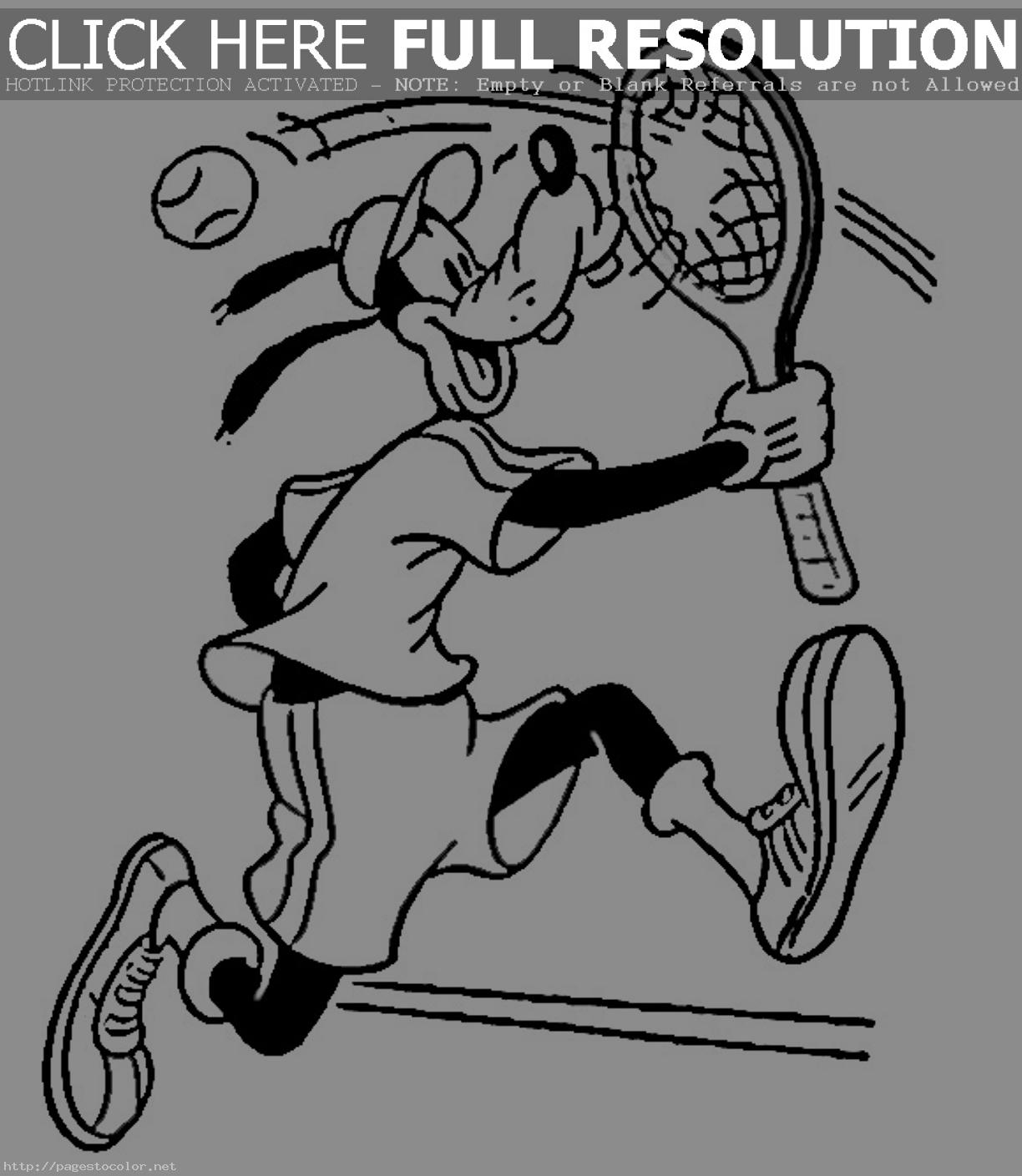 Coloriages à imprimer : Tennis, numéro : 671549