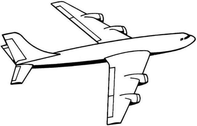 Coloriages à imprimer : Avion, numéro : 7272