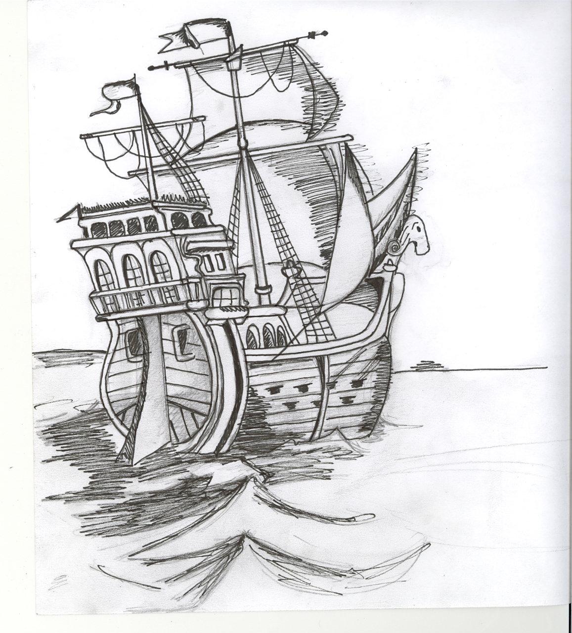 Dessins en couleurs imprimer bateau num ro 14921 - Dessin de bateau facile ...