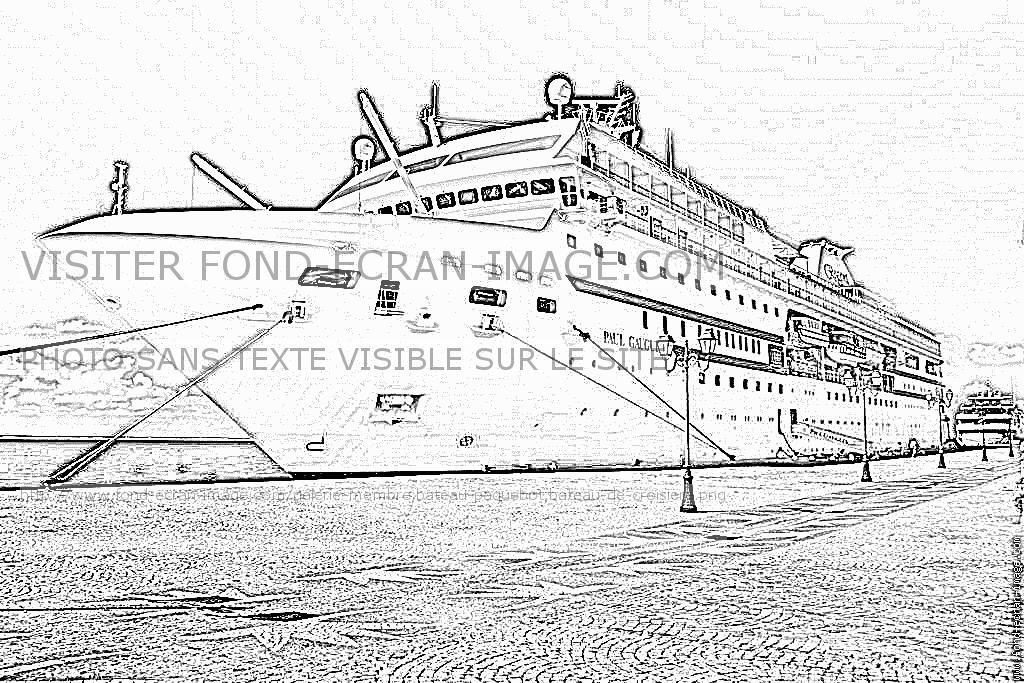 Coloriages imprimer bateau num ro 307537 - Coloriage paquebot ...