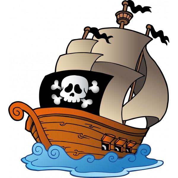 Dessins en couleurs imprimer bateau num ro 466244 - Bateau de pirate dessin ...