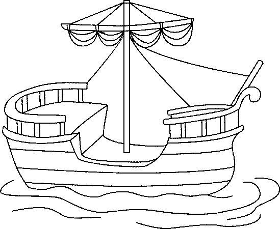 Bateau Christophe Colomb Dessin