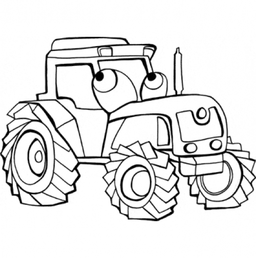 traktor tom coloring pages - photo#5