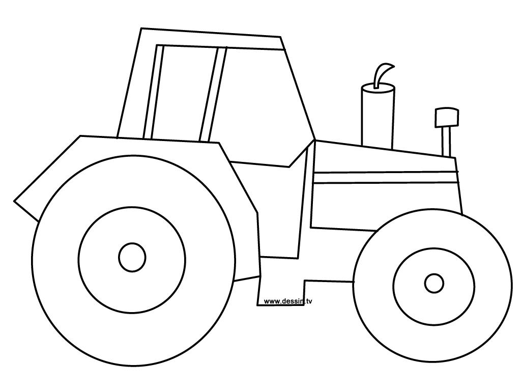 Coloriages à imprimer : Tracteur, numéro : 16984