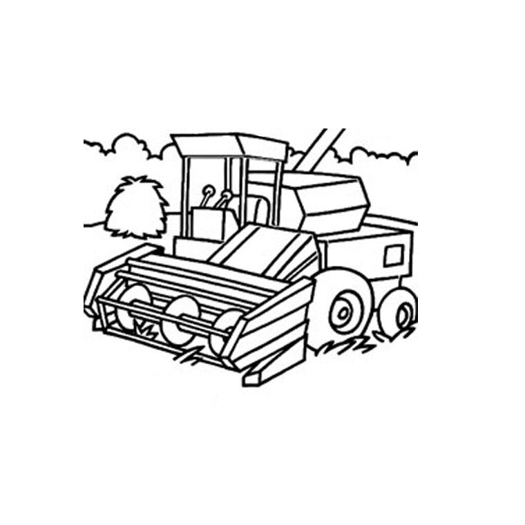 Coloriages à imprimer : Tracteur, numéro : 18306