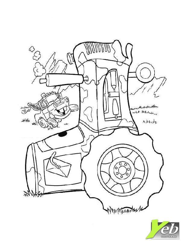 Coloriages imprimer tracteur num ro 424853 - Cars et les tracteurs ...