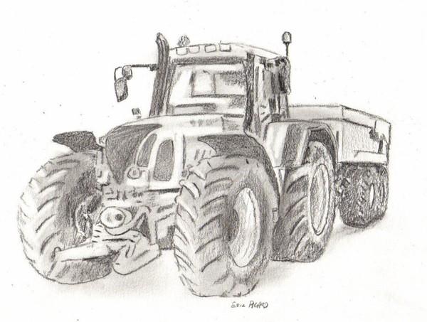 Dessins en couleurs imprimer tracteur num ro 70274 - Jeu de tracteur agricole gratuit ...