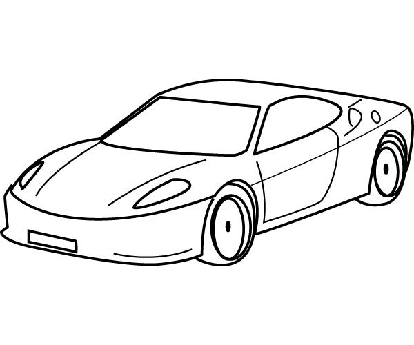 coloriages  u00e0 imprimer   voiture  num u00e9ro   3804