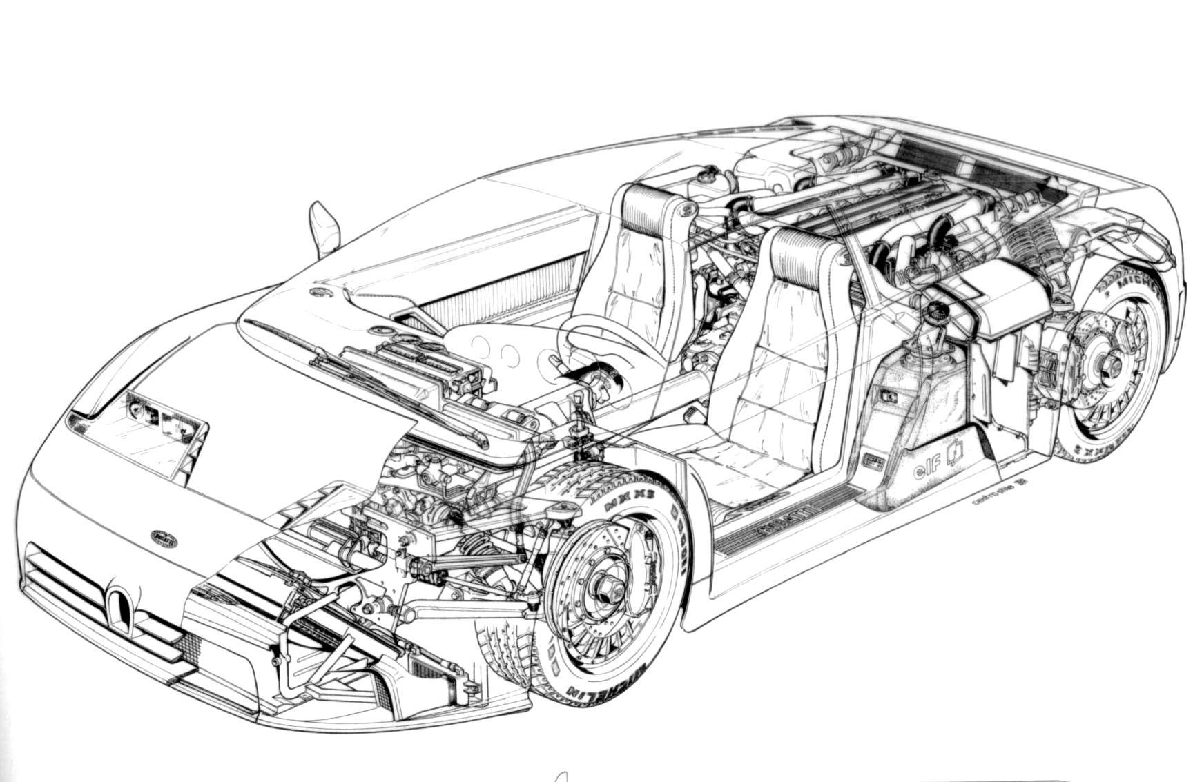Coloriage  imprimer Véhicules Voiture Aston Martin numéro