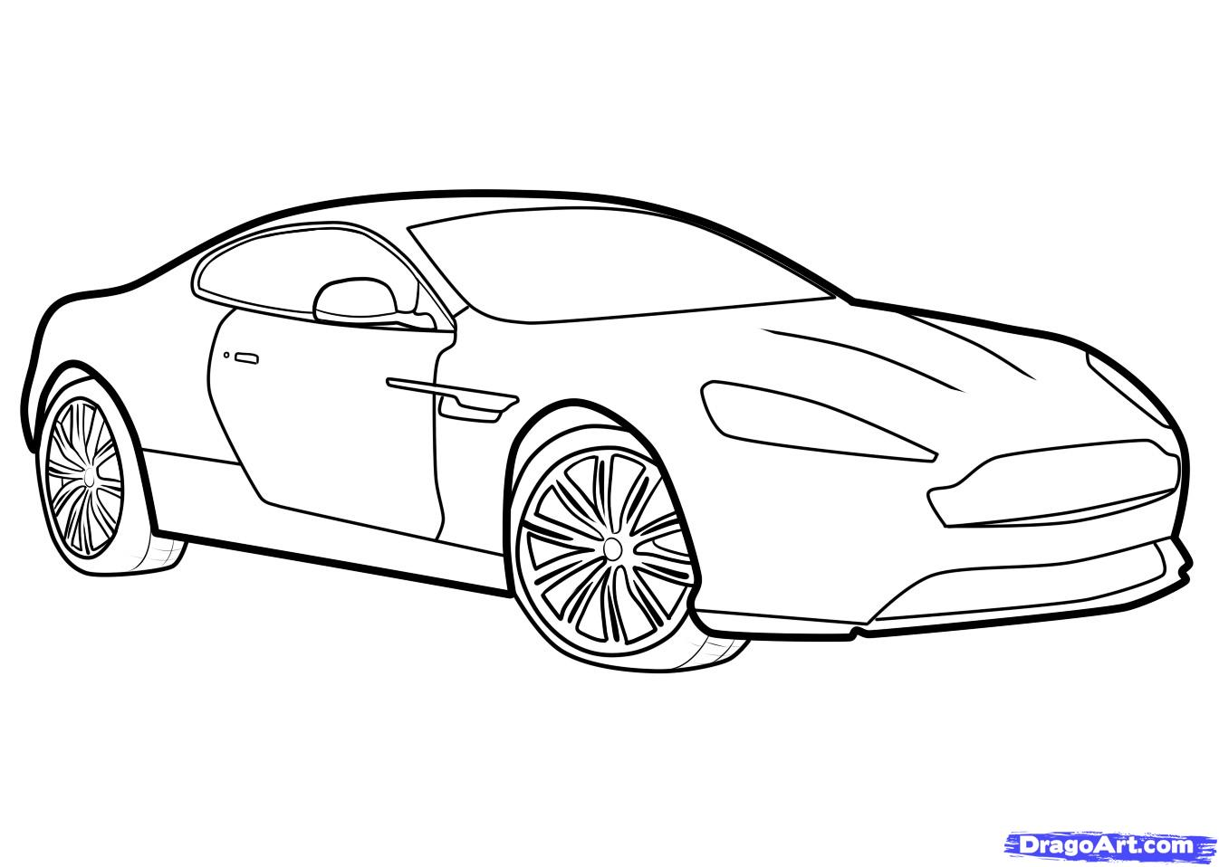 coloriages imprimer aston martin num ro 758386. Black Bedroom Furniture Sets. Home Design Ideas