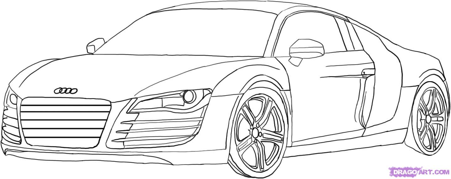 Coloriages imprimer audi num ro 434544 - Dessin a colorier de voiture ...