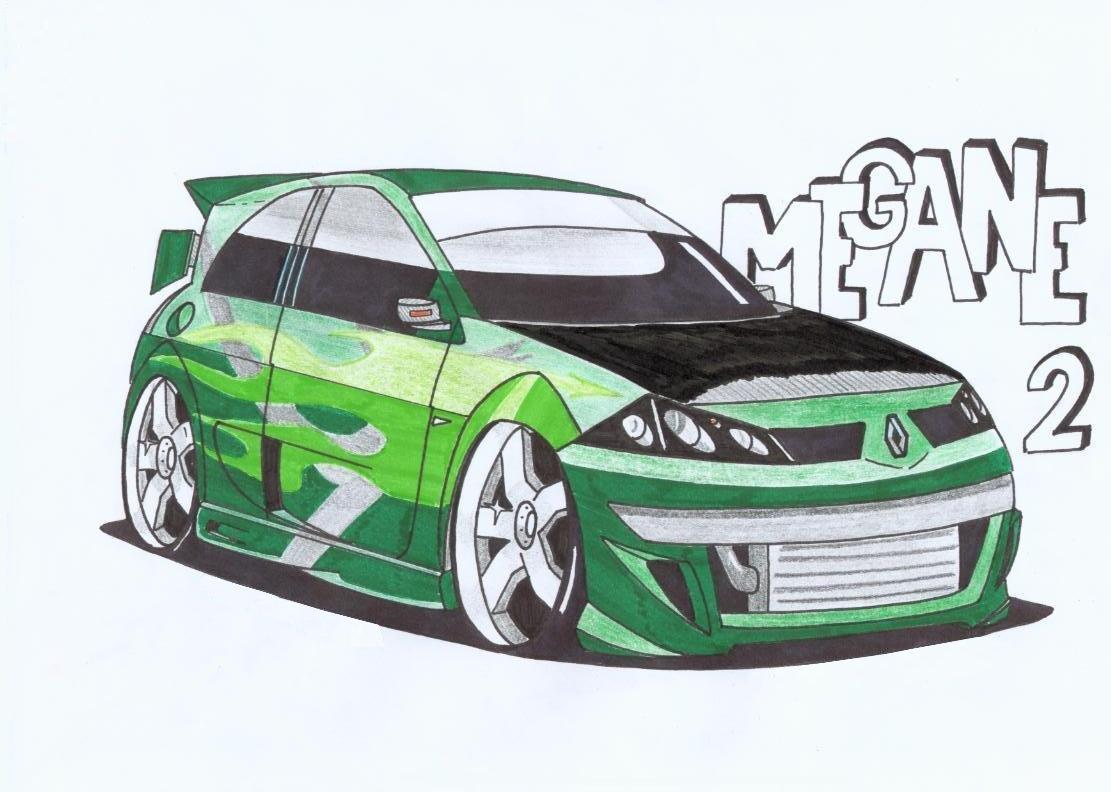 Dessin en couleurs imprimer v hicules voiture bmw - Dessin voiture profil ...