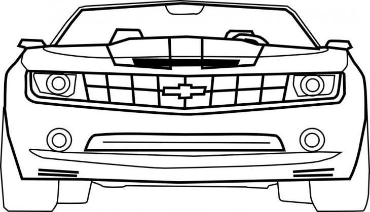 Coloriages imprimer chevrolet num ro 104596 - Dessin de voiture simple ...