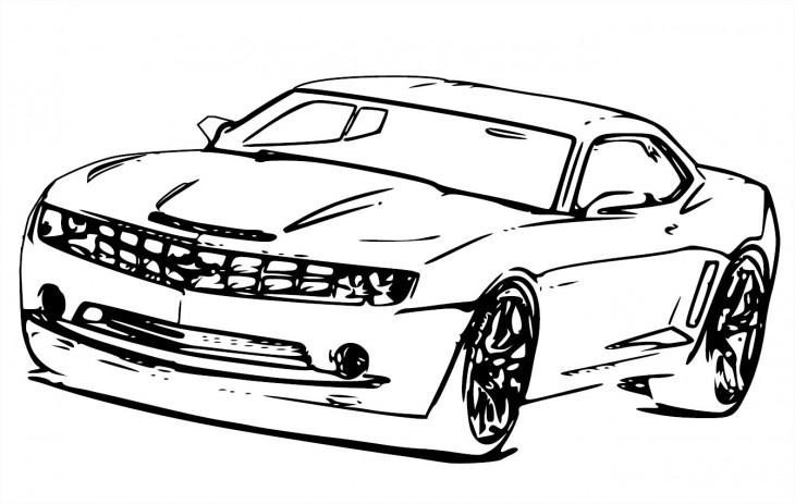 imprimer le coloriage vehicules voiture ferrari numro 501669