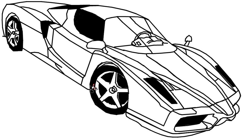 Coloriages imprimer Ferrari
