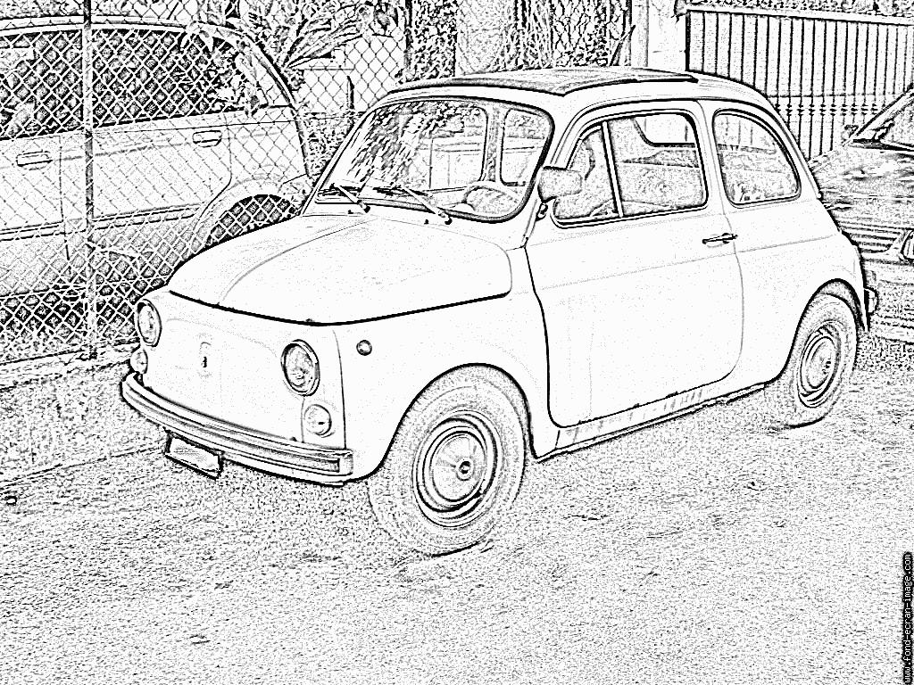 Coloriages 224 Imprimer Fiat Num 233 Ro 104730