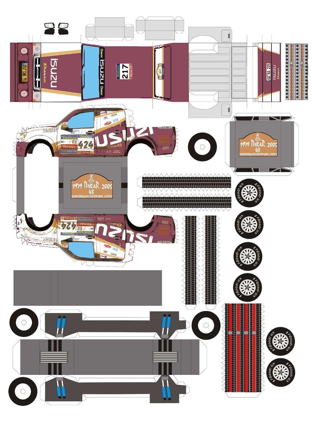 dessin en couleurs imprimer v hicules voiture isuzu num ro 162596. Black Bedroom Furniture Sets. Home Design Ideas