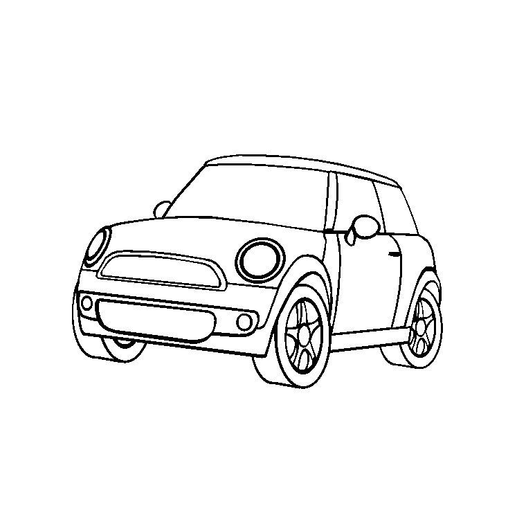Coloriages imprimer mini num ro 106150 - Coloriage voiture mini cooper ...