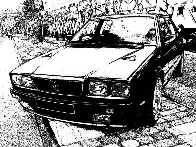 Coloriages à imprimer : Maserati, numéro : 106043