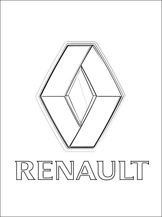 Coloriages 224 Imprimer Renault Num 233 Ro 528251
