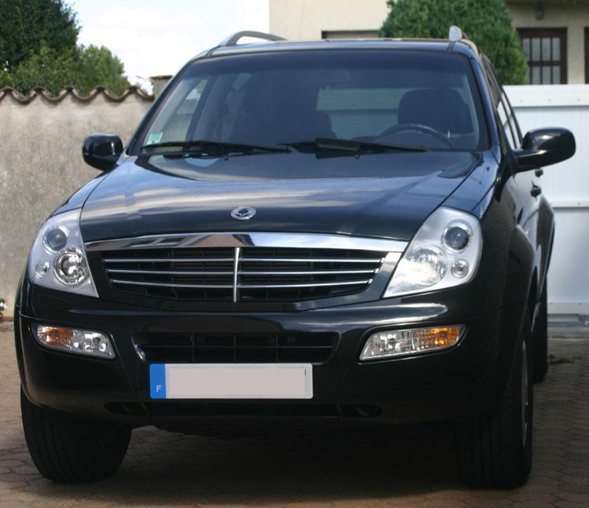 vehicule 4x4 rexton